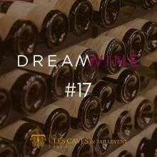 J-4 DREAMWINE #17   Dreamwine c'est le rendez-vous à ne pas manquer. Durant un mois Les Caves de Taillevent vous proposent de découvrir une sélection de vins à maturité, uniquement disponibles sur allocation ! L'occasion pour vous de profiter de vins des plus grands producteurs, avec une offre à -10%  RDV le mardi 20/04 pour découvrir la maison mise à l'honneur. Attention quantités très limitées...