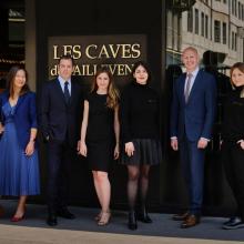 Les Caves de Taillevent vous présentent leur équipe ! Uniquement des experts pour vous dénicher les meilleurs vins, vous conseiller et vous accompagner dans tous vos achats...  © Julie Limont
